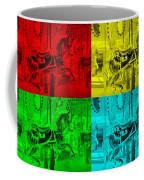 Quad Color Horses Coffee Mug