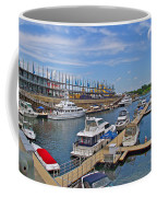 Quays Along Saint Lawrence River In Montreal-qc Coffee Mug
