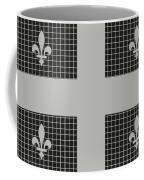 Quebec Metal Mesh Flag Coffee Mug