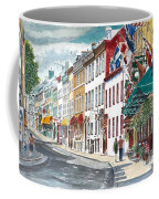 Quebec Old City Canada Coffee Mug by Anthony Butera