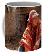 Quechua Man Sacred Valley Peru Coffee Mug