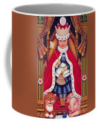Queen Alice, 2008 Oil And Tempera On Panel Coffee Mug