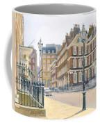 Queen Annes Gate Oil On Canvas Coffee Mug
