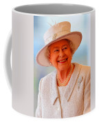 Queen Elizabeth II Portrait 100-028 Coffee Mug