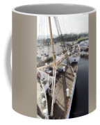 Queen Mary Ocean Liner Bow 03 Long Beach Ca Coffee Mug
