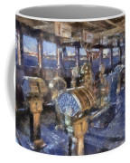 Queen Mary Ocean Liner Bridge 01 Photo Art 02 Coffee Mug
