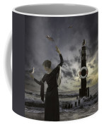 Queen Of The Seagulls Coffee Mug