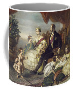 Queen Victoria & Family Coffee Mug