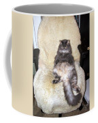 Queenie As An Executive Coffee Mug