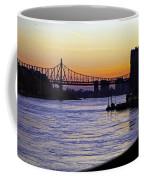 Queensboro Bridge At Night - Manhattan Coffee Mug