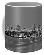 Queensboro Bridge 59th Street Nyc Bw Coffee Mug