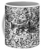 Queiros Voyages, 1613 Coffee Mug