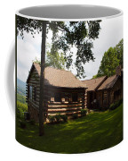 Quiet Cabin On A Hill Coffee Mug