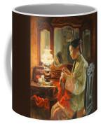 Quiet Evening Coffee Mug by Victoria Kharchenko