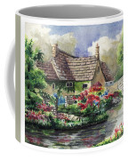 Quiet House Along The River Coffee Mug