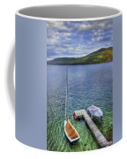 Quiet Jetty Coffee Mug by Evelina Kremsdorf