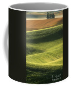 Quiet Morning In The Palouse  Coffee Mug by Sandra Bronstein