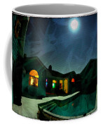 Quiet Night With A Full Moon Coffee Mug