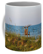 Quiet On The Beach Coffee Mug