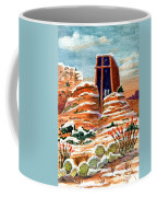 Quiet Snowfall  Sedona  Arizona Coffee Mug