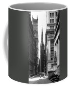 Quiet Sunday On Wall Street Coffee Mug