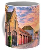 Quiet Village Sunset Coffee Mug