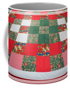 Quilt Christmas Blocks Coffee Mug