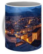 Quito Old Town At Night Coffee Mug
