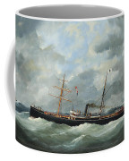 R. Bell And Co.s Steamship Bothal In A Heavy Swell Coffee Mug