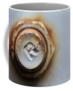 R Bolted Coffee Mug