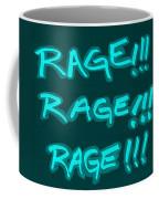 R R R Turquoise Coffee Mug