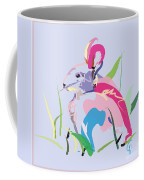 Rabbit - Bunny In Color Coffee Mug