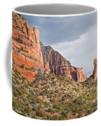 Rabbit Ears Spire At Sunset Coffee Mug
