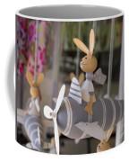 Rabbits Can Fly Coffee Mug