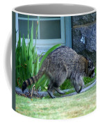 Raccoon In Flight Coffee Mug