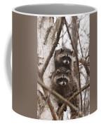 Raccoon Siblings Coffee Mug