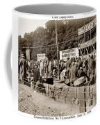Race Cars Crown Point Indiana June 19 1909 Coffee Mug