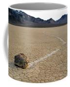Racetrack Sailing Rocks Death Valley National Park Coffee Mug