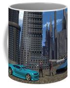 Racing For Titles Coffee Mug
