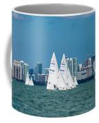 Racing Past Miami Coffee Mug
