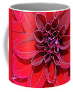 Radiant In Red - Dahlia Coffee Mug