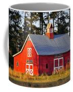 Radiant Red Barn Coffee Mug