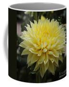 Radiant Yellow Dahlia Coffee Mug