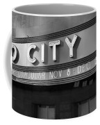 Radio City In Black And White Coffee Mug