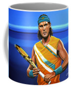 Rafael Nadal Coffee Mug by Paul Meijering