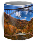 Rafting Down The New River Gorge Coffee Mug