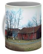 Ragged Red Shed I Coffee Mug