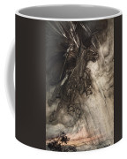 Raging, Wotan Rides To The Rock! Like Coffee Mug by Arthur Rackham