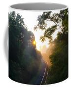 Rail Road Sunrise Coffee Mug
