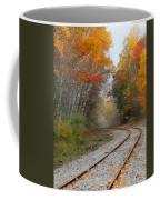 Rail Through The Colors Coffee Mug